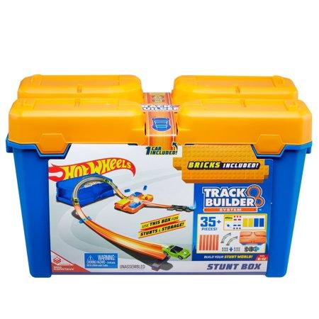 e9a19216b33 Hot Wheels Track Builder Stunt Box  12.97