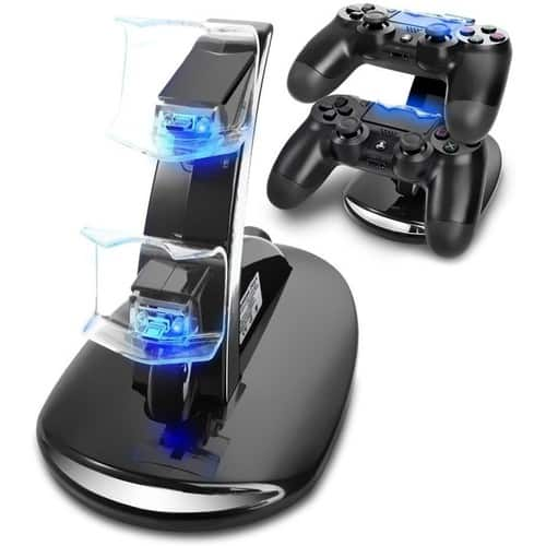 PS4 Controller Dual Charging Dock [USB-Powered] $7.49 w/PrFS!