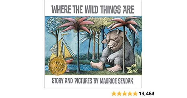 Where the Wild Things Are (Hardcover) $7.50 + Free Shipping w/ Prime