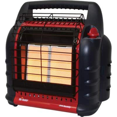 Mr. Heater Big Buddy Indoor/Outdoor Propane Heater — 18,000 BTU, Model# MH18B $113 Shipped