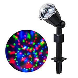 WED Rotating Kaleidoscope LED Projector Lights $18.99