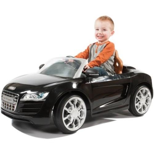 Rollplay Audi R8 Spyder 6-Volt Battery-Powered Ride-On $99 + fs