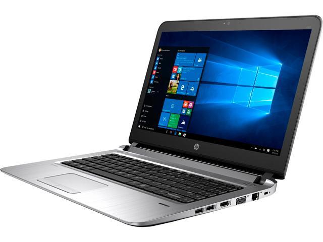 "HP Laptop ProBook 440 G3 (X9U26UT#ABA) Intel Core i7 6500U (2.50 GHz) 16 GB Memory 256 GB SSD Intel HD Graphics 520 14.0"" Windows 10 Home 64-Bit $606"