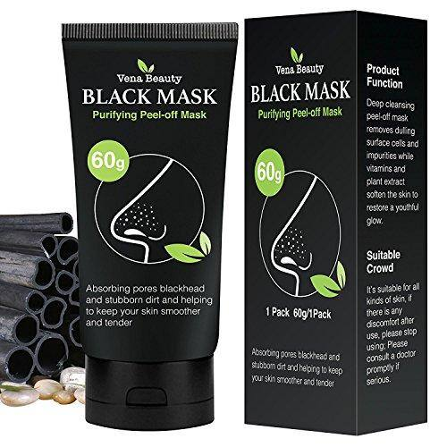Blackhead mask Purifying Peel-off Mask Deep Cleansing 60g, only $3.99 + free shipping