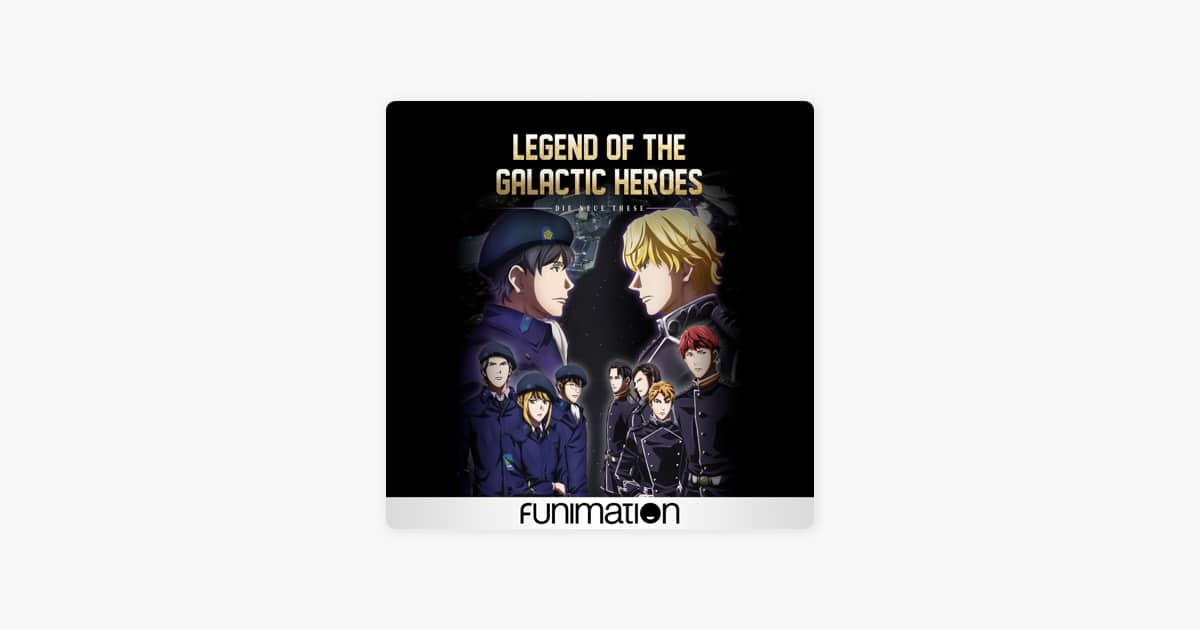 [iTunes] Legend of the Galactic Heroes: Die Neue These, Season 1 and 2 for $4.99 each
