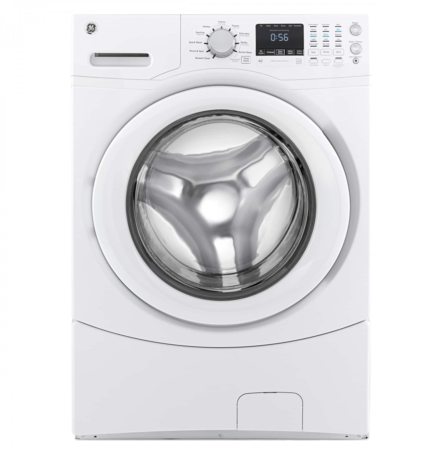 GE 4.3 CU. FT. WHITE FRONT LOAD WASHER - ENERGY STAR Model # GFWN1600JWW $528.00