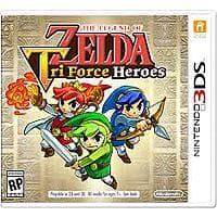Amazon Deal: Zelda: TriForce Heroes (3DS) $34.99 via Amazon (Prime Only)