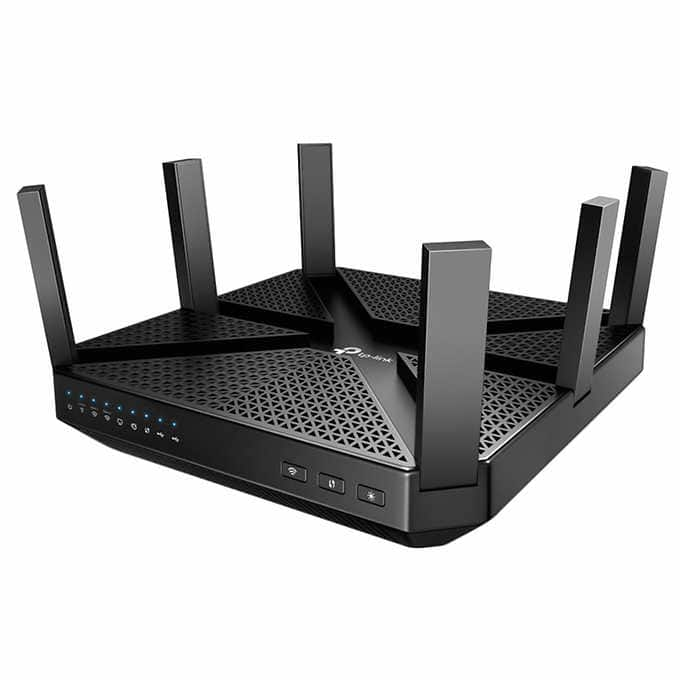 TP-Link Archer C4000 Tri-Band Wi-Fi Router -$129.99