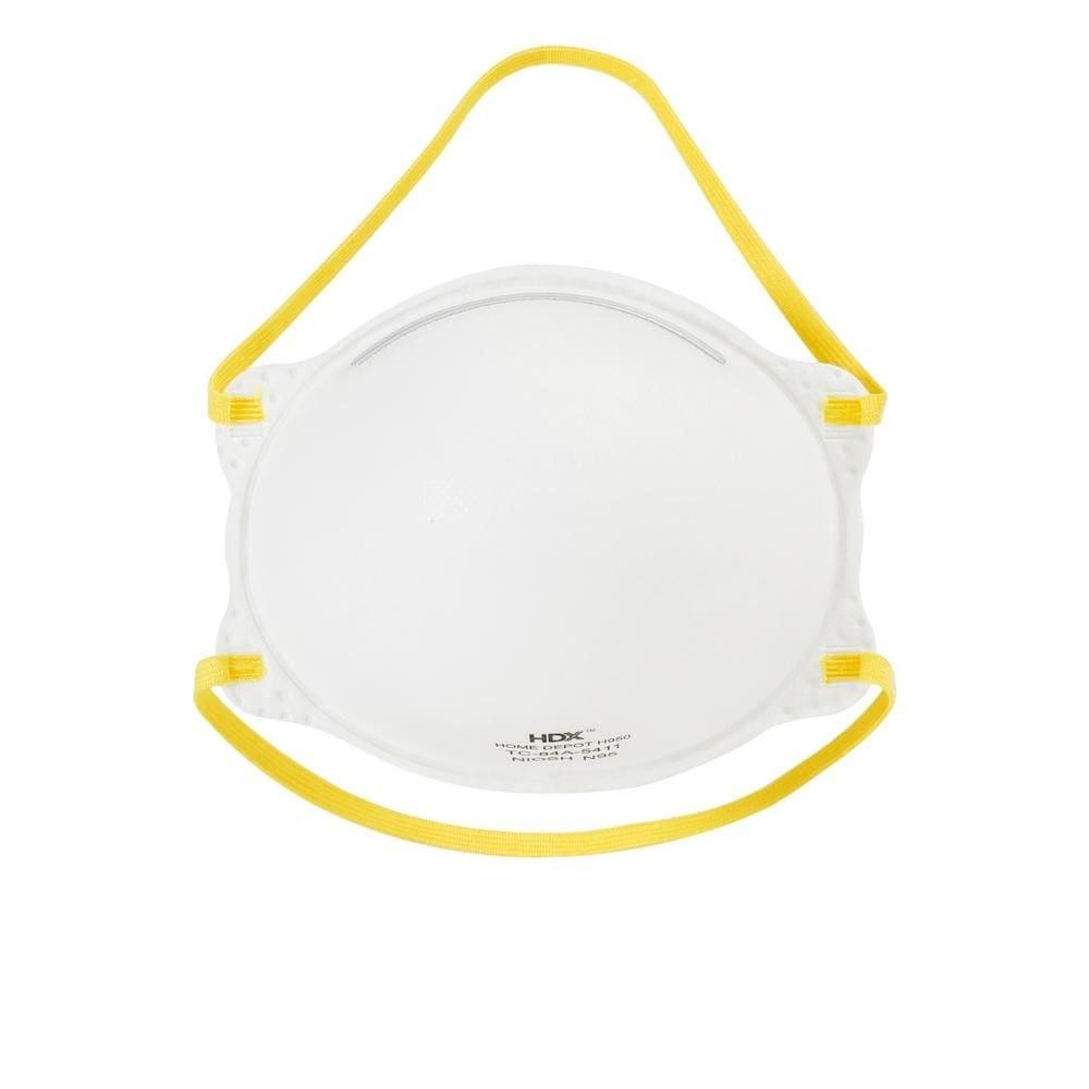 HDX N95 Respirator Masks M/L (10-Pack)-H950 - $17.97 - $17.97