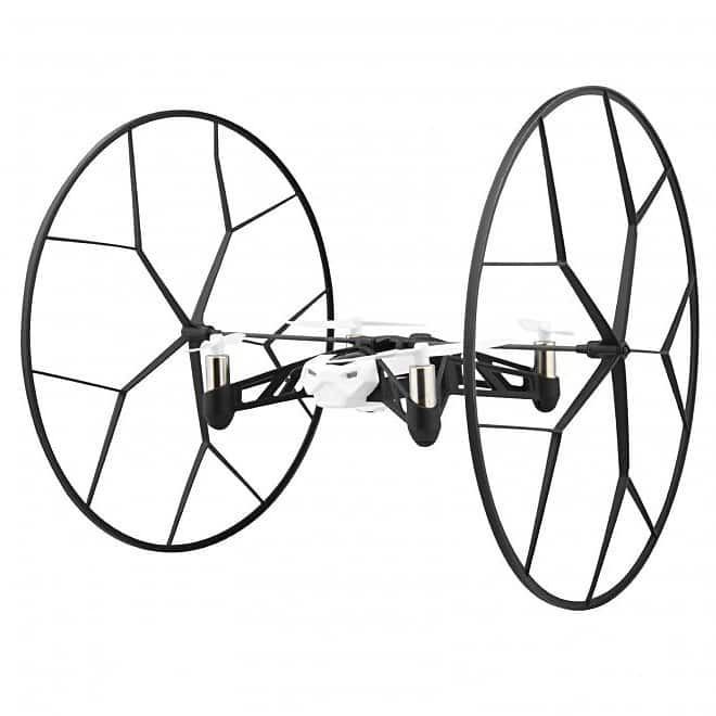 Parrott Rolling Spider Helicopter with HD Camera (White)  $14.99