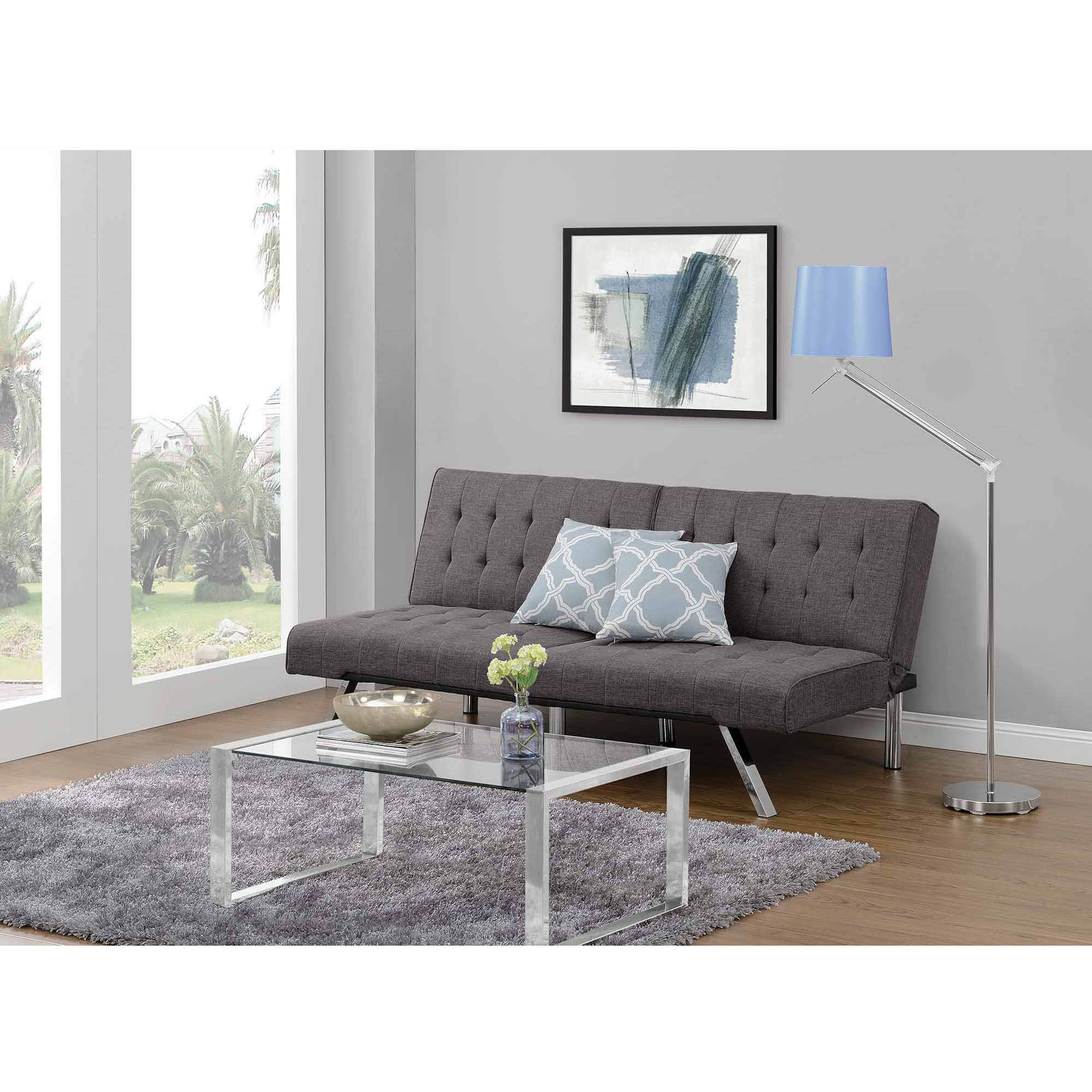 Dhp Emily Convertible Futon Sofa Couch Multiple Colors 139 00 Free Pickup