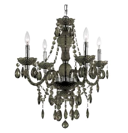 Ice Palace 4-Light Crystal Chandelier $53.99 + fs $54