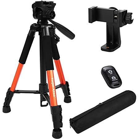 "Torjim 60"" Camera Tripod Wireless Remote with Carry Bag (5kg/11lb Load) Clolor- Orange $17.49 + Free shipping"