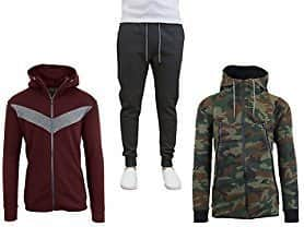 Galaxy By Harvic Men's Tech Hoodies and Joggers $14.99+