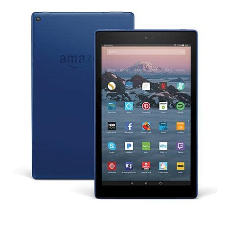 New customers - Amazon Fire HD 10 IPS 32GB Quad-Core Hands-Free