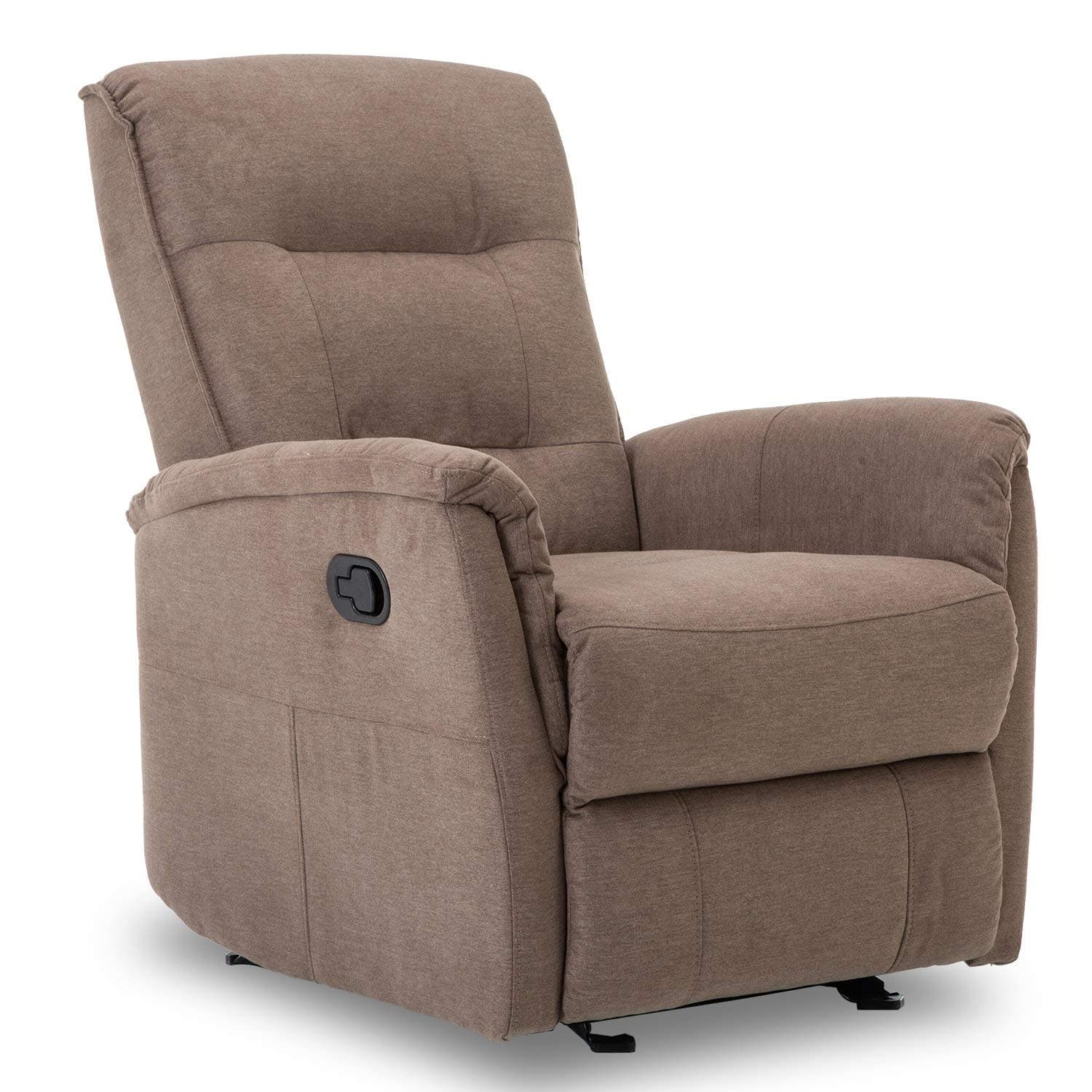 Peachy Bonzy Glider Recliner Chair With Super Comfy Gliding Track Ibusinesslaw Wood Chair Design Ideas Ibusinesslaworg