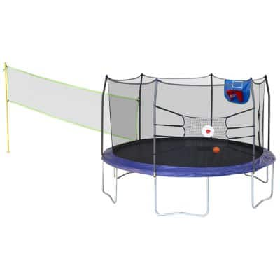 Skywalker Trampolines 15' Round Sports Arena Trampoline and Enclosure $279.98