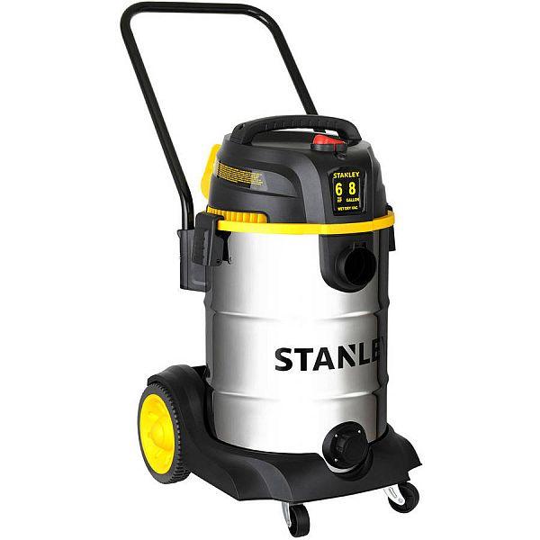 Vacuum Blowers Industrial Process : Stanley peak hp gallon stainless steel wet dry vac