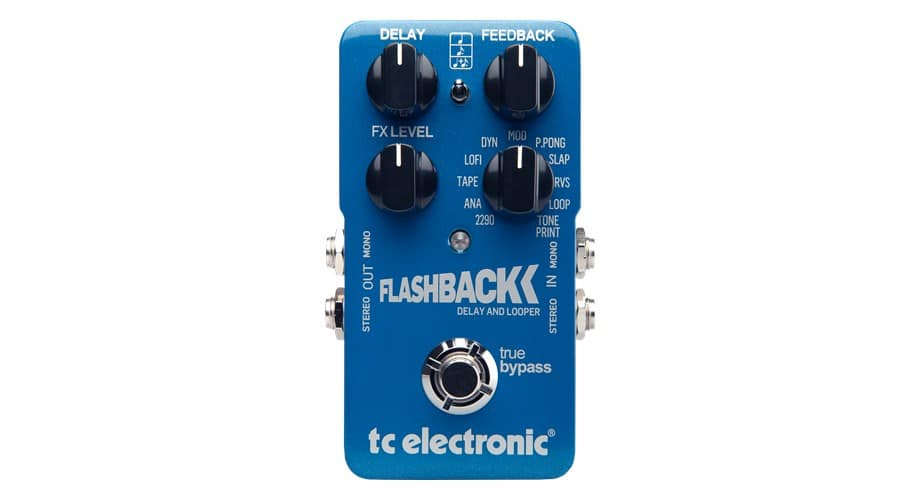 TC Electronic Flashback Delay and Looper Pedal $99.99