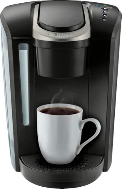 Keurig - K-Select Single-Serve K-Cup Pod Coffee Maker - Matte Black Rated 4.6 out of 5 stars with 687 Reviews $69.99