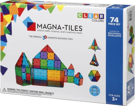 Magna-Tiles Clear Colors 74 Piece Set FOR $84.96 with promo 9DAWJ1Z88Z134