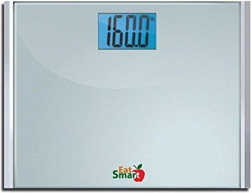 EatSmart Precision Plus Digital Bathroom Scale w/ Ultra-Wide Platform  EXPIRED