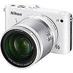Nikon 1 J3 Digital Camera w/ 10-100mm Lens WHITE $299 Refurbished + Free Shipping