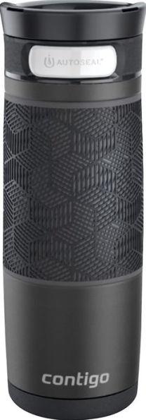 Contigo Transit 16oz AUTOSEAL®  Matte Black w/Matte Black Grip Accent $4.49