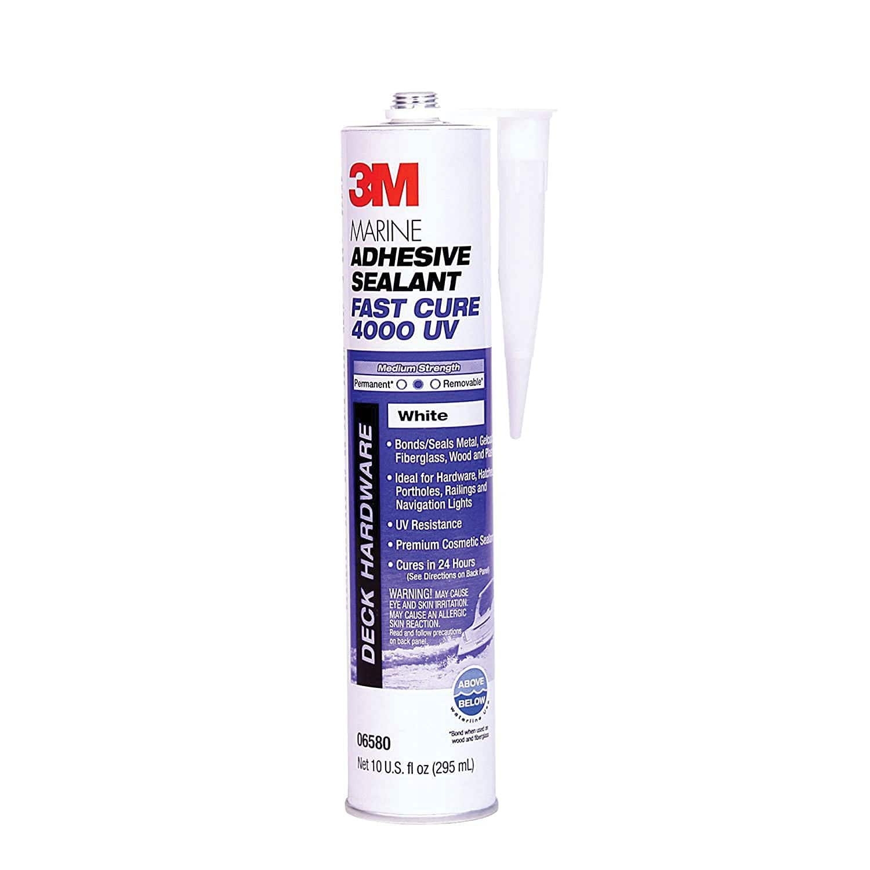 3M 06580 Marine Adhesive/Sealant Fast Cure 4000 UV 10oz $16.97 F/S w Prime