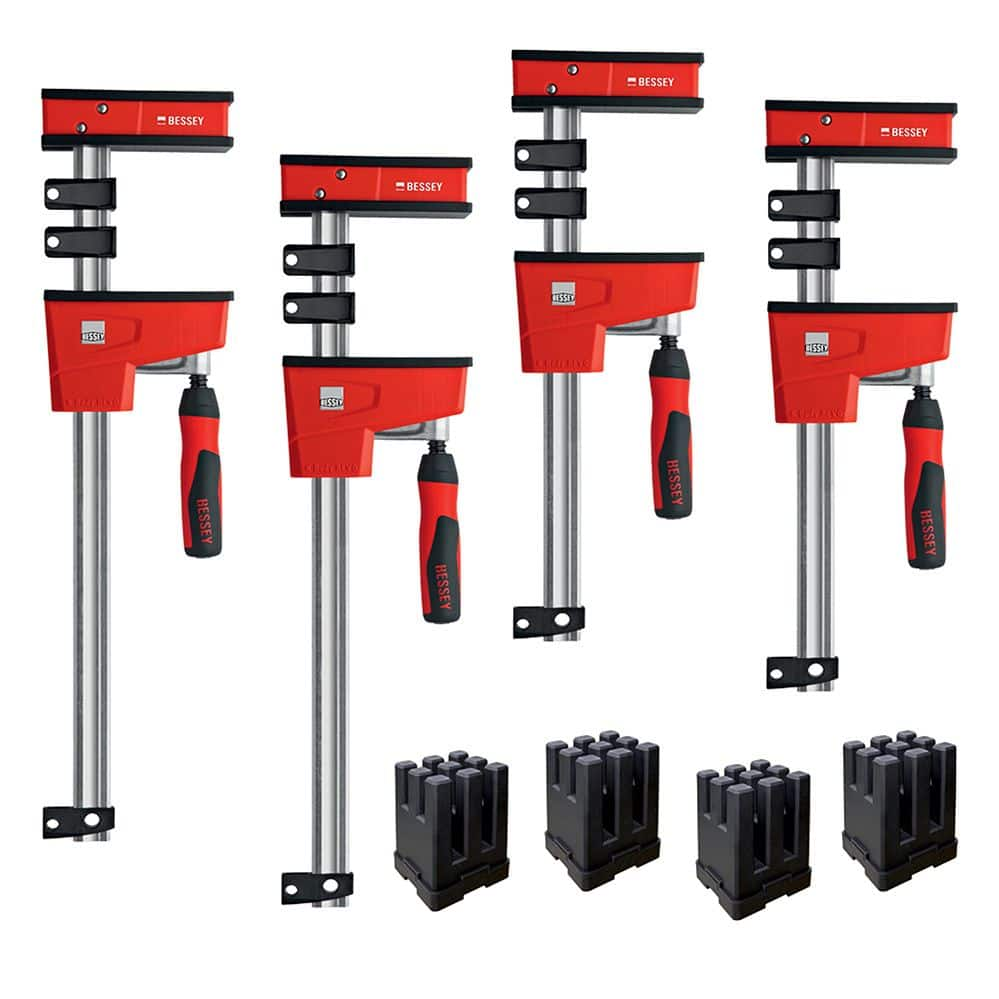 Rockler has the Bessey REVO Parallel Clamp/Framing Kit on sale for $189.95 with free shipping for new members