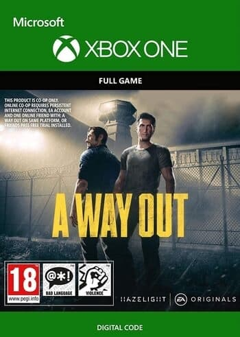 A Way Out XBOX LIVE Key ARGENTINA (VPN needed to redeem)