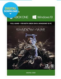 Middle Earth: Shadow of War Xbox One/PC play anywhere at cd keys $28.50 after promo code