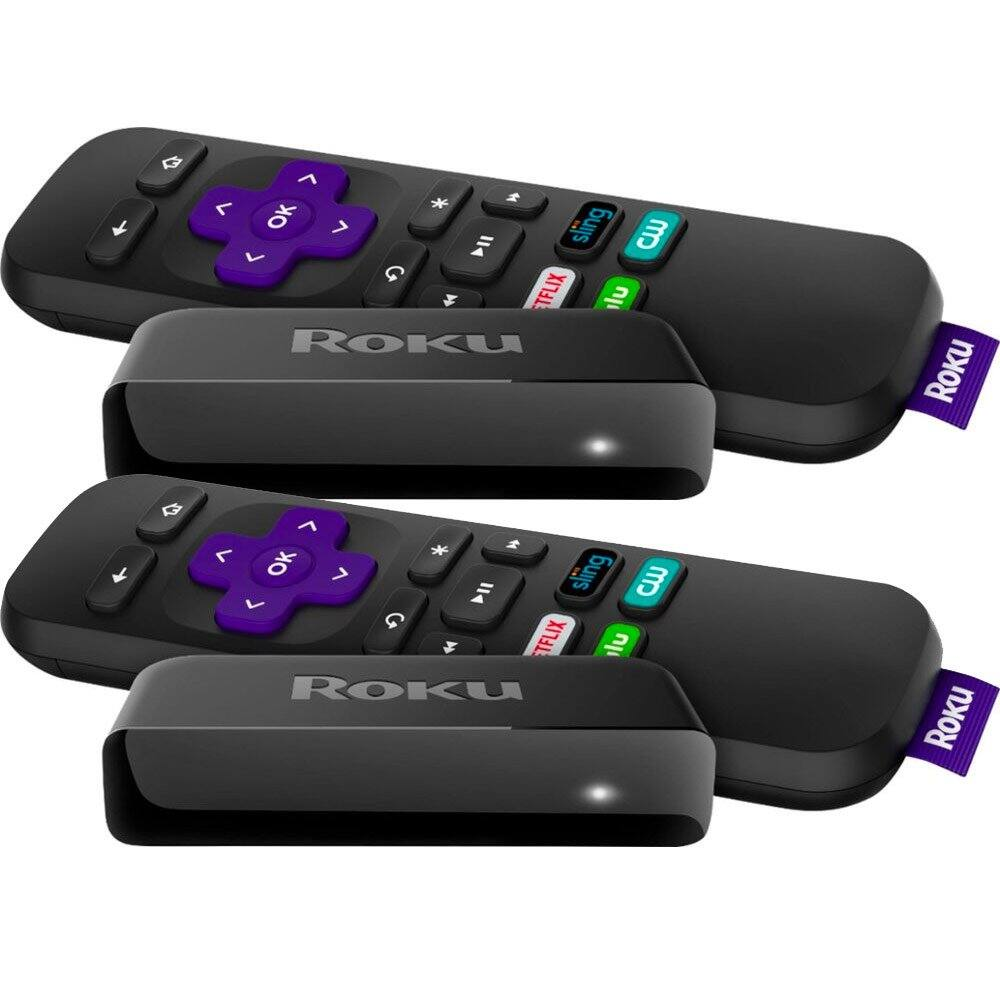 2 Roku Express Streaming Players for $49 98 @Bestbuy