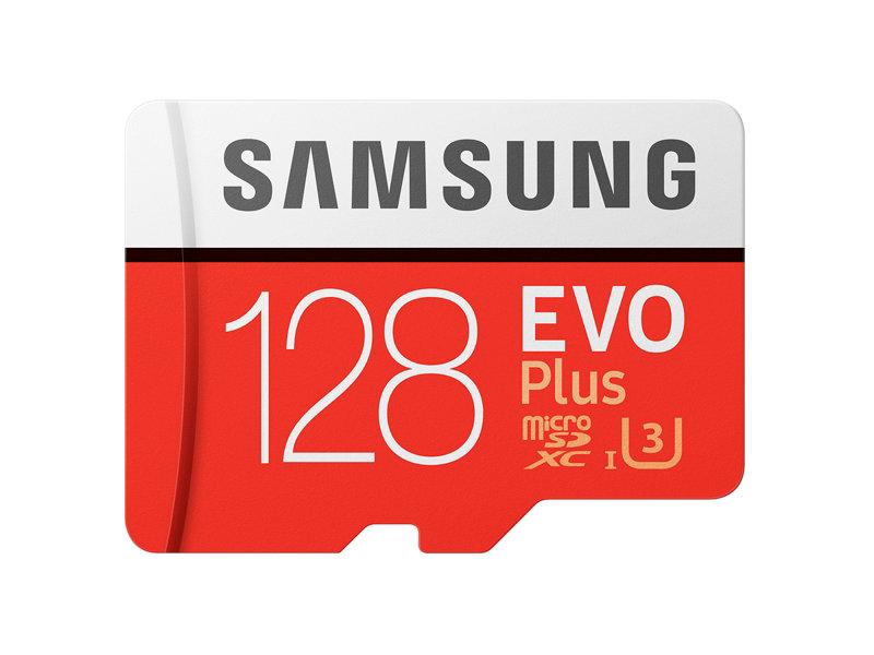 Samsung 128 MicroSDXC EVO Plus Memory Card w/ Adapter (2017 Model) $29.99 with UNIDAYS.COM discount