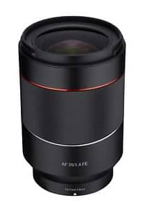 Rokinon AF 35mm F1.4 Full Frame Auto Focus Wide Angle Lens for FE Mount $549