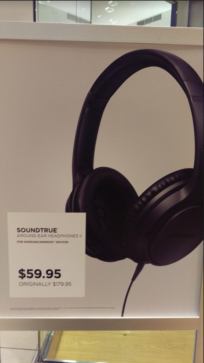 Bose SoundTrue Around Ear Headphones II - Android - 59.95$
