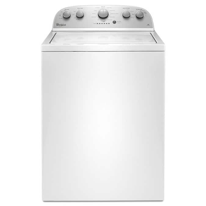 Whirlpool 3.5-cu ft High Efficiency Top-Load Washer (White) $428