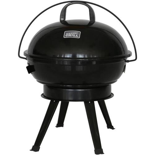 """Expert Grill 14.5"""" Dome Charcoal Grill, Black $8.88"""