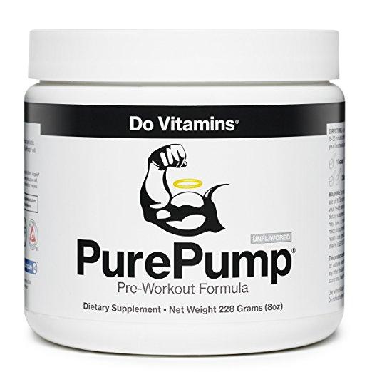 Do Vitamins - PurePump Natural Pre Workout $31.96