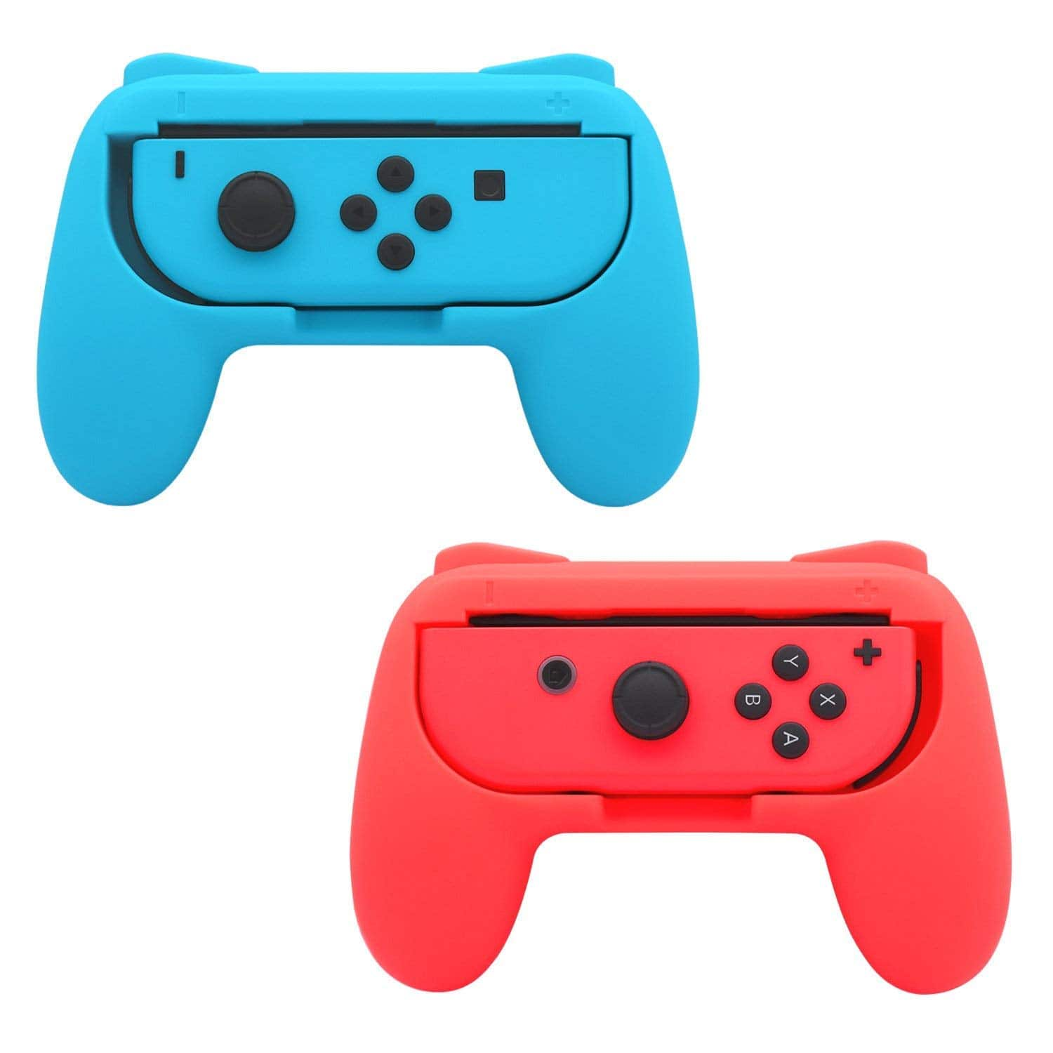 FastSnail Grips compatible with Nintendo Switch Joy-Cons (Red and Blue) $10.36 on Amazon FS w/ Prime