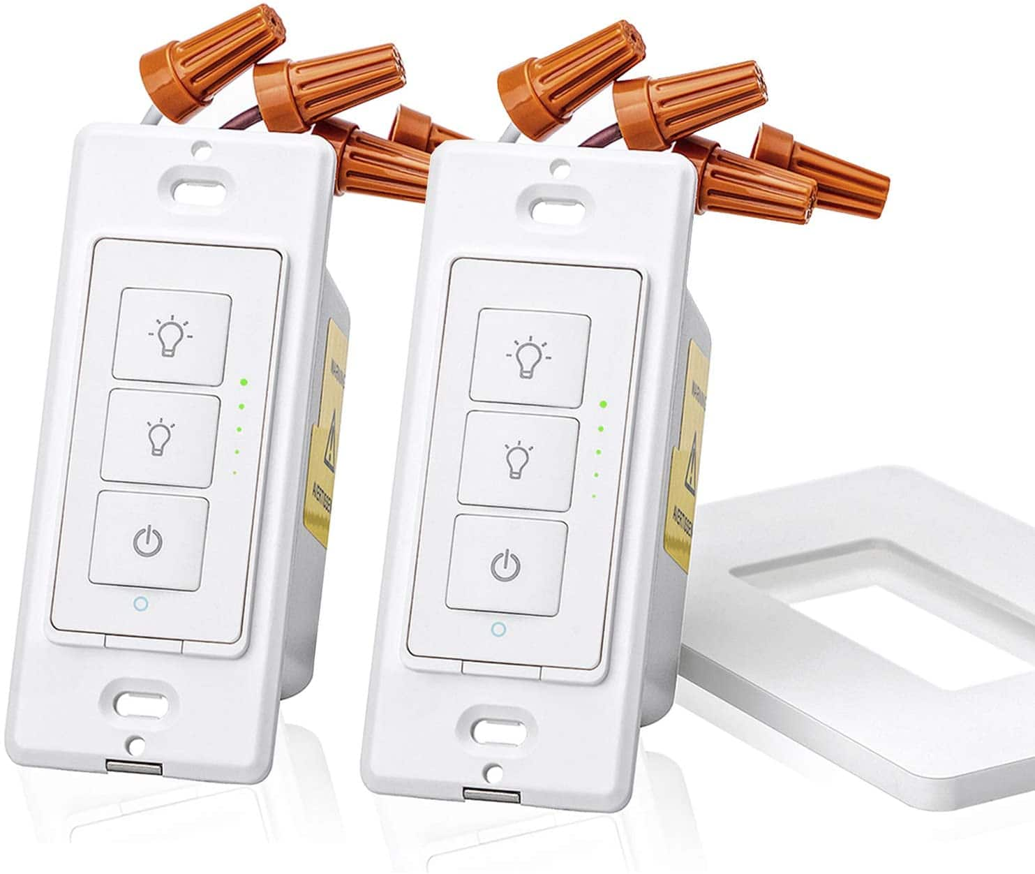 meross Smart Dimmer Switch for Dimmable LED Light, Halogen and Incandescent Bulb Works with Alexa, Google Assistant and IFTTT (2 Pack) - $27.99 FS w/ Prime