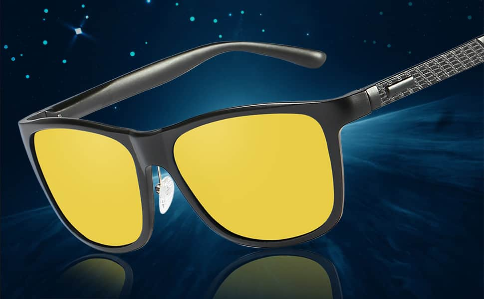 Bircen HD Night Vision Driving Anti-Glare Glasses - Starting from $12.48 FS w/ Prime