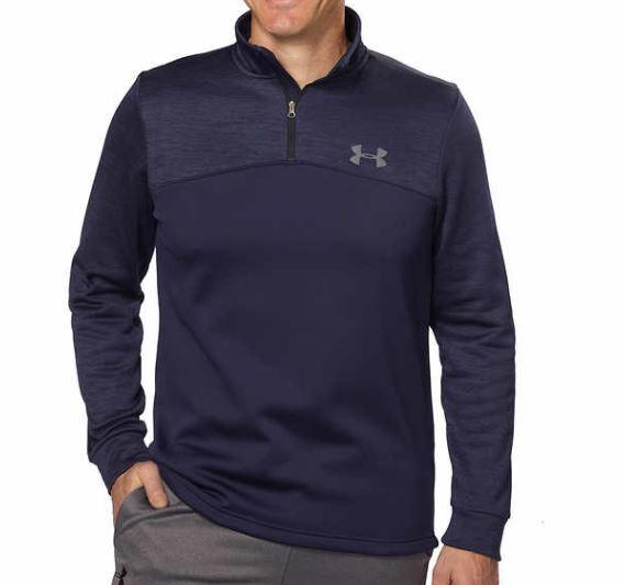 Under Armour Men's Storm Fleece Icon ¼ Zip Pullover $19.97
