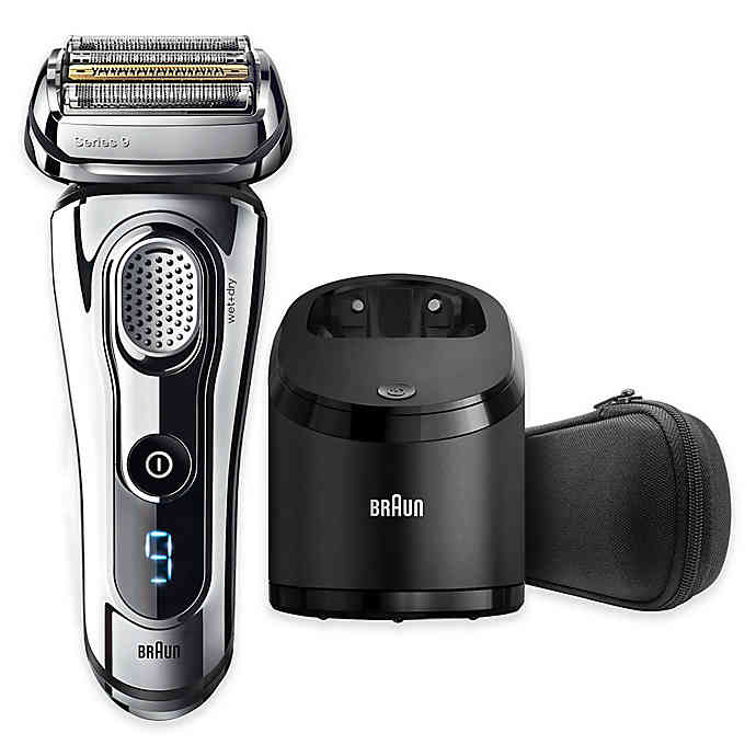 Braun Series 9-9295CC Wet & Dry Electric Shaver in Chrome $171.99