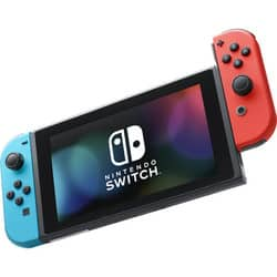 Nintendo Switch 32GB Console with Neon Blue and Red Controllers (Factory Refurbished) $235.19