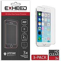 Amazon Deal: EXHEED iPhone 6 HD Ultra Clear Screen Protector (3-Pack) for $0.98 + Free Shipping or HD Ballistic Glass Screen Protector $4.95