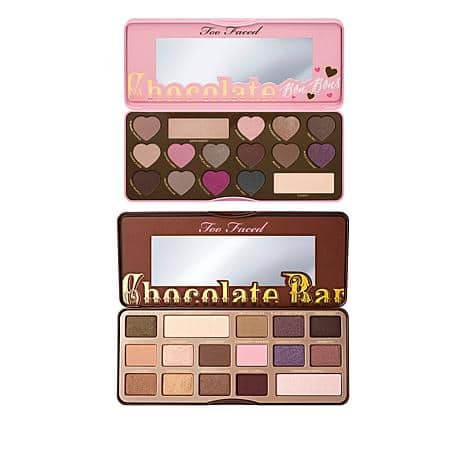 Too Faced Chocolate Eyes Duo with Two Shadow Palettes  $59.00 + fs