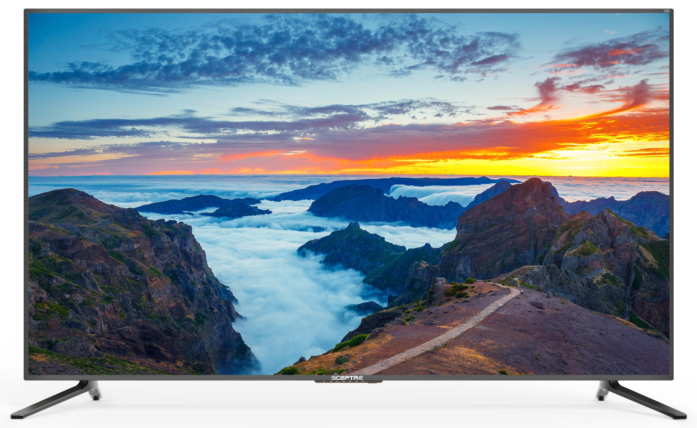 "Sceptre 65"" Class 4K (2160P) LED TV (U650CV-U), Walmart, Free Ship $469.99"