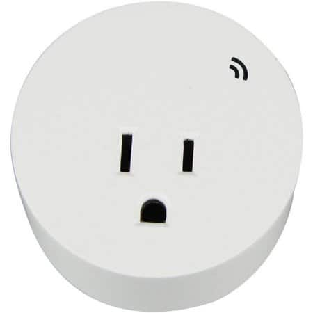 White Free Shipping WorkChoice 1 Ol Wi-Fi Controlled Outlet Indoors