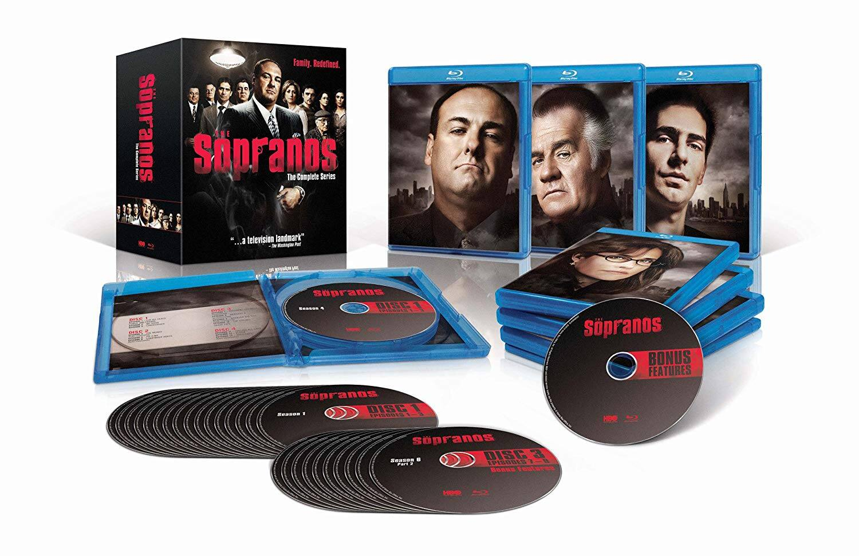 Sopranos Complete Bluray $44.99